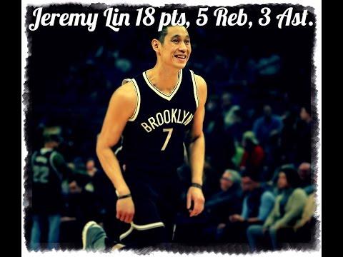 Jeremy Lin 18 Pts Highlights @ Dallas Mavericks. 03.10.2017. NBA 2016-17