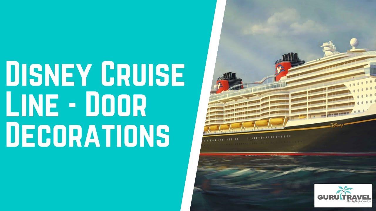 Disney Cruise Line Door Decorations | Doovi