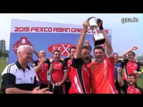 Sunday at the 2015 Fexco Asian Gaelic Games