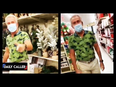 Man Screams At Woman Over Mask In Hobby Lobby
