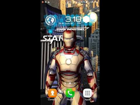 Unlock all the features of Iron man live wallpaper for free!!