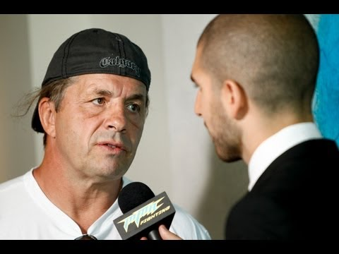 WWE Legend Bret Hart Talks About His Respect for UFC
