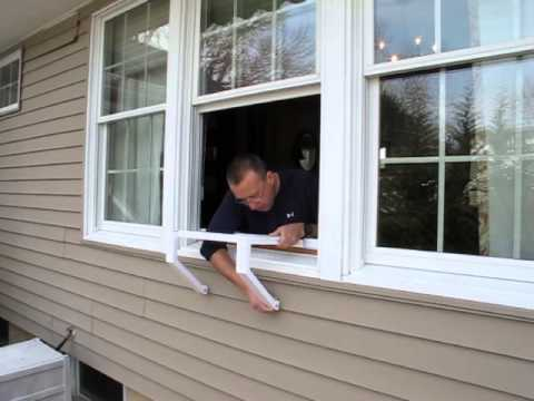 Window Ac Bracket Installation Video Youtube