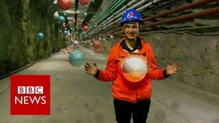 Neutrinos: Hunting universe's strangest particles - BBC News
