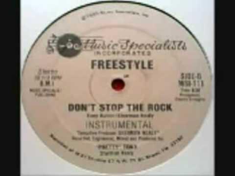 Freestyle - Don't Stop The Rock   whit lyrics