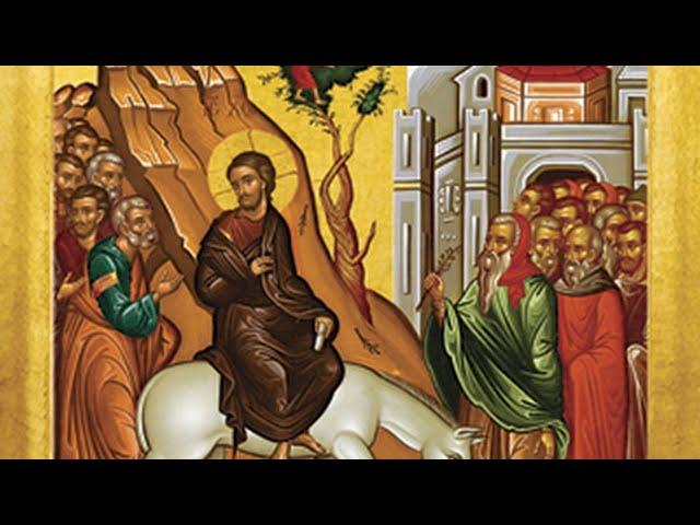 Divine Liturgy for Palm (Flowery) Sunday, April 5, 2020