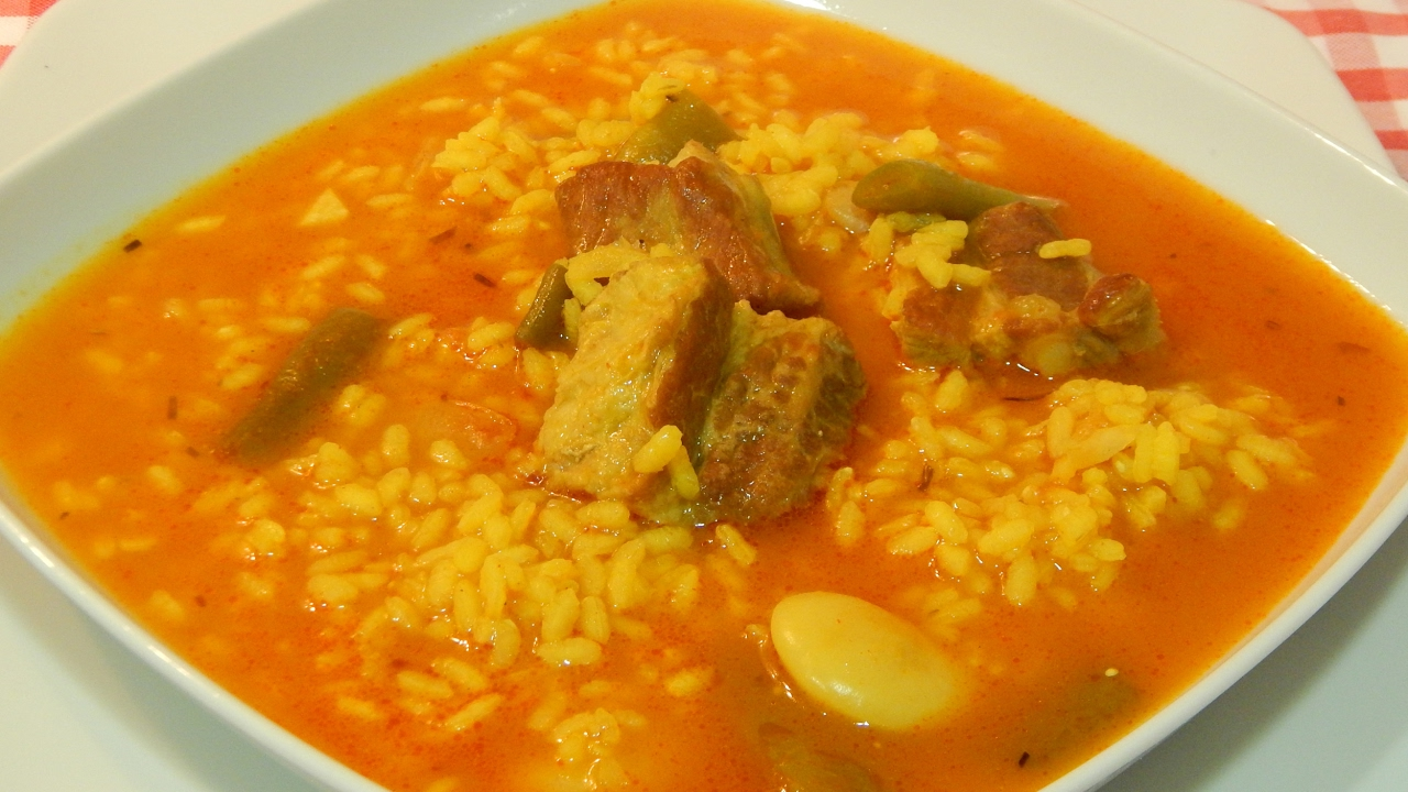 Receta de arroz caldoso con costillas youtube - Arroz caldoso con marisco ...