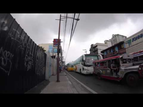 My way to work in Manila small