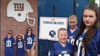 New York Giants Training Camp 2017 - AMB FAMILY TRIP