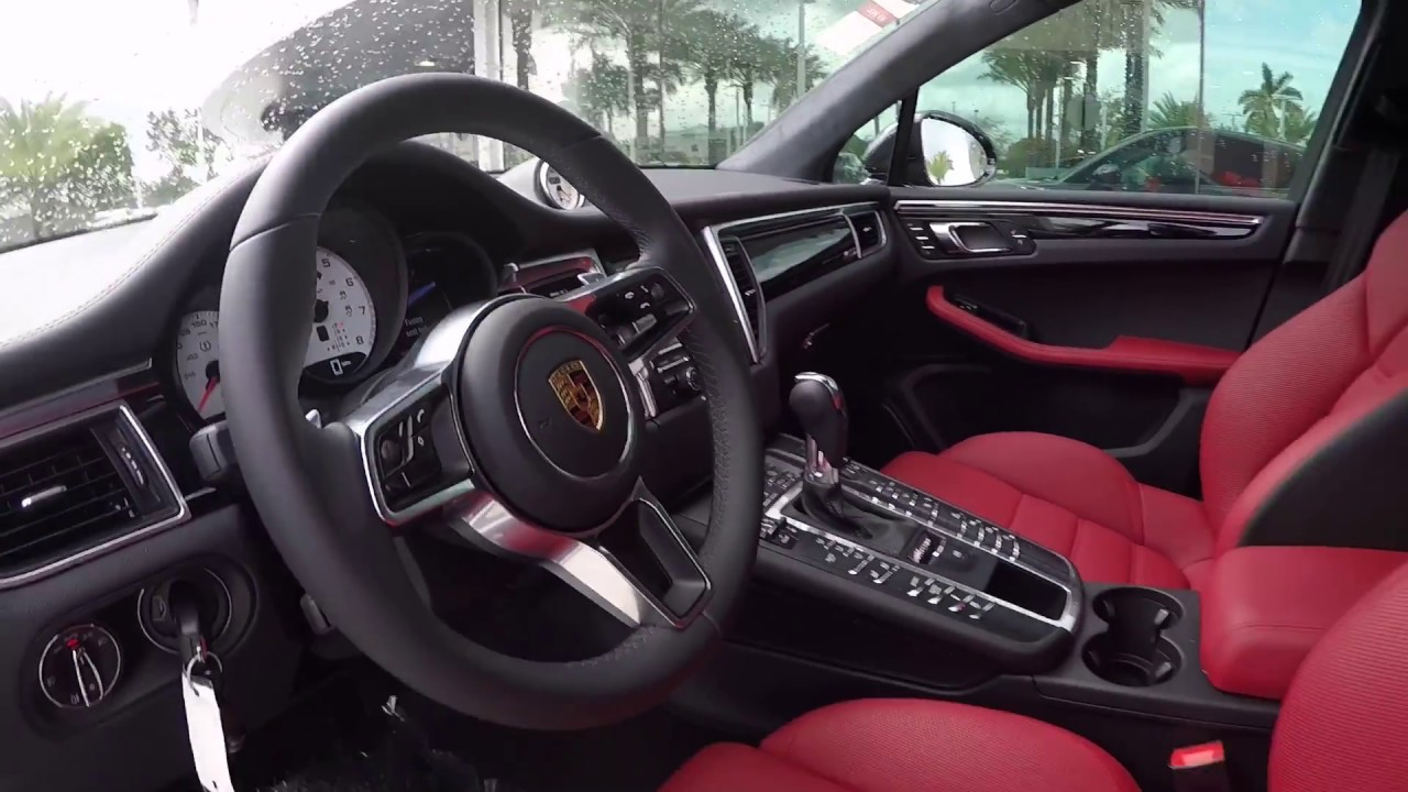 2016 Jet Black Porsche Macan Turbo 400 Hp Porsche West Broward