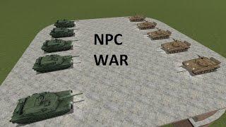 npc war   5 t 72 s vs 5 m1 abrams   part 10   garry s mod