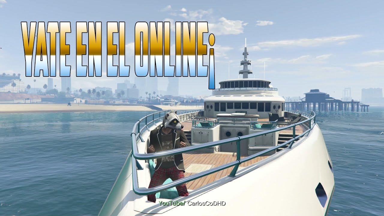 yate en el online partida gta v ps4 youtube On cuanto vale un yate de lujo