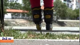 Как научиться кататься на роликах