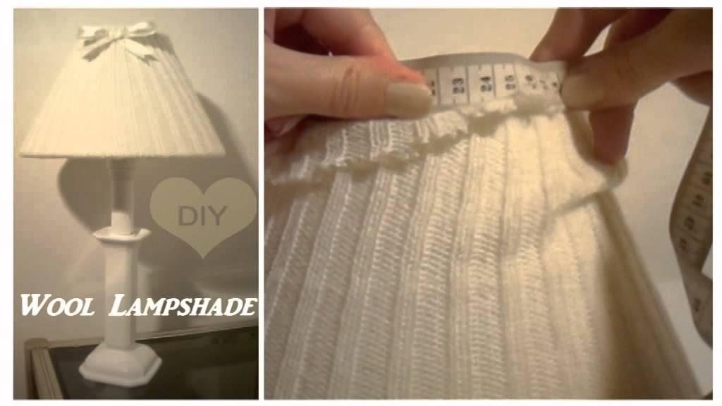 DIY Lampada di lana ( facile ) - YouTube