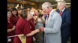 The Prince of Wales sends a message of thanks to mark 72 years of the NHS
