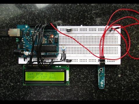 Measure speed / RPM using Arduino and IR sensor