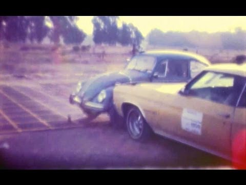 Chevy Malibu into VW Beetle | Car-to-Car Crash Test by NHTSA | CrashNet1