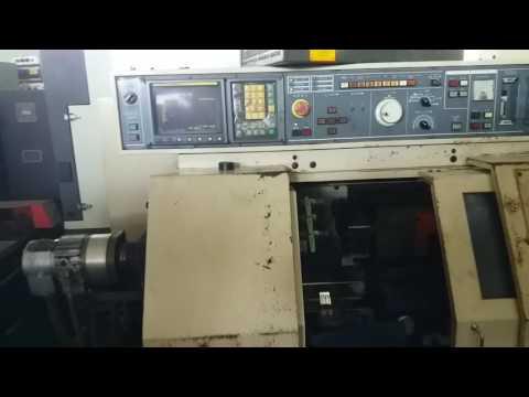 Vận hành máy tiện Miyano BNC-34C