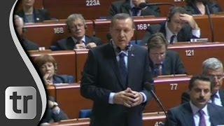 Europarat-Parlament versucht Erdoğan ins Kreuzverhör zu nehmen - Rede Straßburg Untertitel [DEUTSCH]