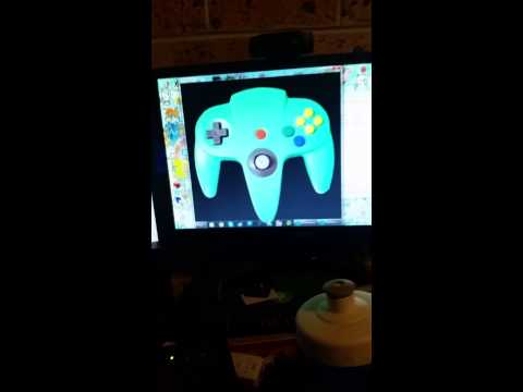 Gamecube Input Display from Console to PC by MikamiHero