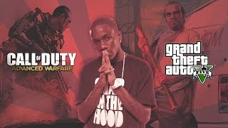 Tinchy Stryder Number One GTA 5 Advanced Warfare Parody