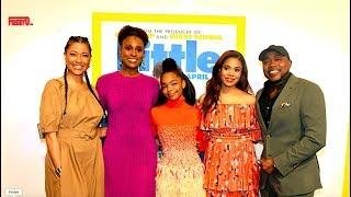 """LITTLE"" The Movie Atlanta Premier Viewing [Cast Interview]"