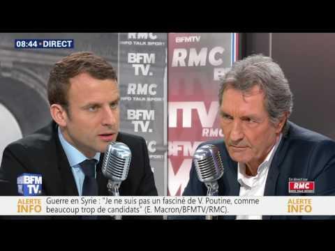 Emmanuel Macron passe son entretien d'embauche |BFM TV
