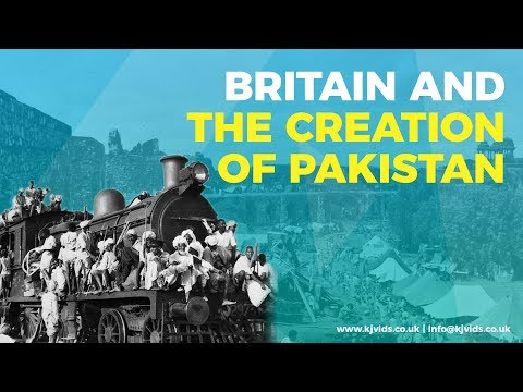 Britain and the Creation of Pakistan