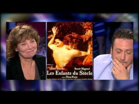 On n'est pas couché : Benoit Magimel parle de Juliette Binoche