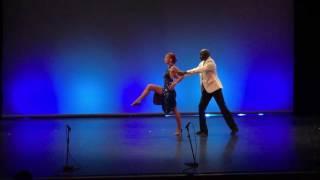 """Tango Argentin, Delphine ZINCK et Hyacinthe SENE, """"Otra Luna"""", Narcotango"""