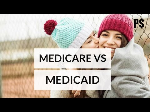 difference between medicare and medicaid (animated video) - Professor Savings