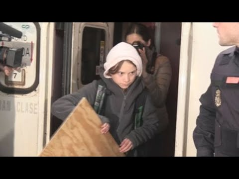 Greta Thunberg ya está en Madrid
