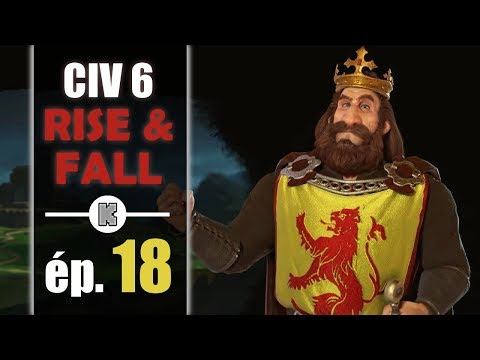 [FR] Civilization 6 RISE AND FALL Ecosse let's play ép 18