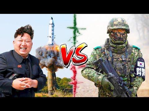 КНДР vs ЮЖНАЯ КОРЕЯ ⭐ СРАВНЕНИЕ АРМИИ ⭐ армия Северной Кореи vs ROK army