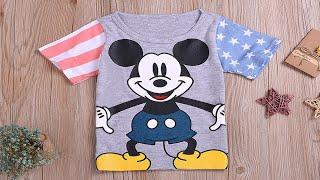 видео Женская футболка Mickey Mouse