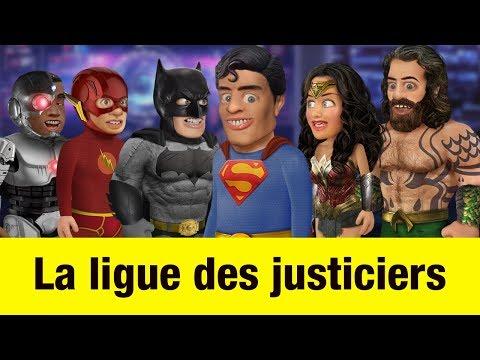 La ligue des justiciers - Têtes à claques