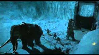 Wildlings Attack The Wall With Giants and Mammoths!