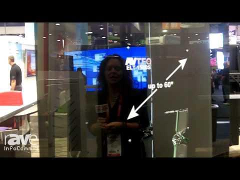 InfoComm 2014: Avteq Showcases ELT-1500 Video Conference Cart