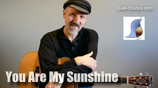 You Are My Sunshine - Guitar Lesson