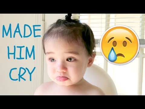 I MADE HIM CRY! 😢