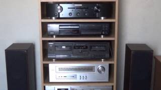 Marantz PM6004 + Pioneer PD206 + Monitor Audio BX5 (Living On My Own - Freddie Mercury) Resimi
