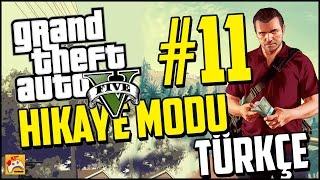 GTA 5 TÜRKÇE ALTYAZILI HİKAYE MODU PC #11 Büyük Soygun!