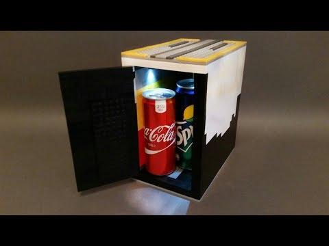Как Сделать Мини Холодильник из ЛЕГО!