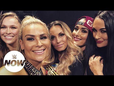 Full reaction to Trish Stratus' epic Raw return: WWE Now thumbnail