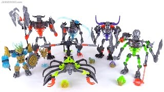 LEGO Bionicle summer 2015 Villains set wrap-up