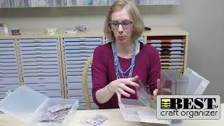 Stamp'n Die Storage by Best Craft Organizer