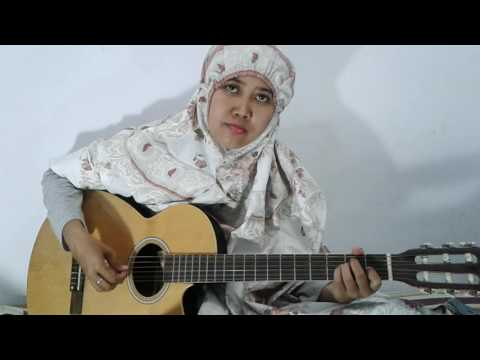 Gitar Instrumen ayat ayat Cinta -  Cover By Ansera