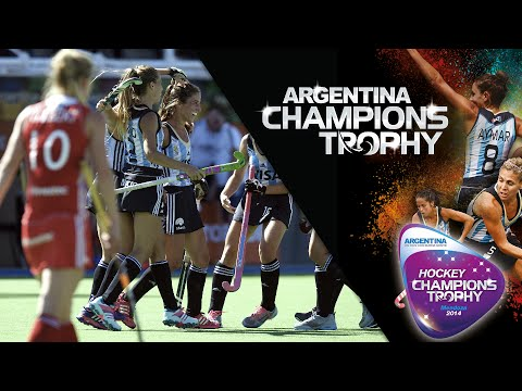 England vs Argentina - Women's Hockey Champions Trophy 2014 Argentina Group B [2/12/2014]