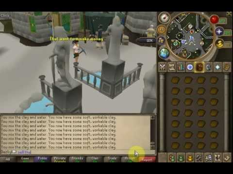 Fastest way to level mining rs