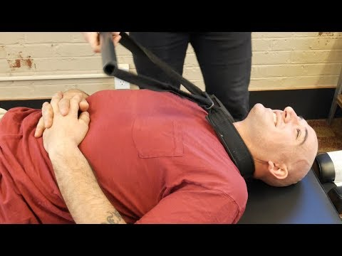 *Injured Marine* Seeks Y-STRAP Chiropractic adjustment from Dr Joseph Cipriano